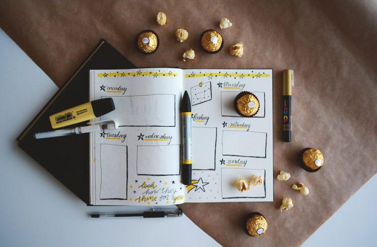 Bullet Journal – zaplanuj czas po swojemu